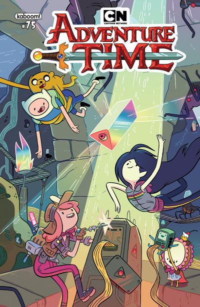 Adventure Time Comic Series Reviews at ComicBookRoundUp.com