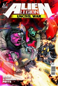 Alien Legion: Uncivil War #4