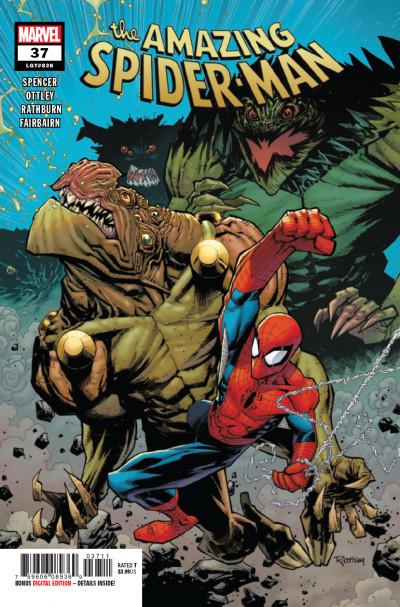 AMAZING SPIDER-MAN  # 37   MARVEL   NEW NEVER READ