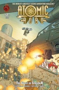 Atomic Robo: Ghost of Station X #3