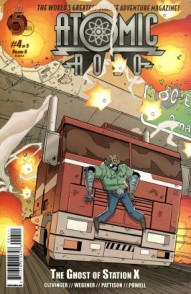 Atomic Robo: Ghost of Station X #4