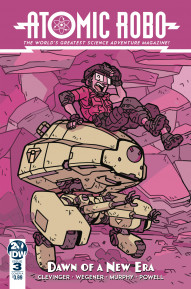 Atomic Robo: The Dawn of a New Era #3