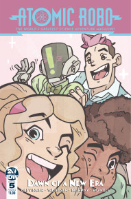 Atomic Robo: The Dawn of a New Era #5