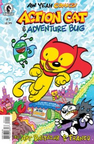 Aw Yeah Comics: Action Cat and Adventure Bug #1
