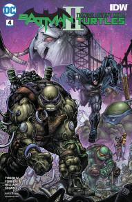 Batman/Teenage Mutant Ninja Turtles II #4