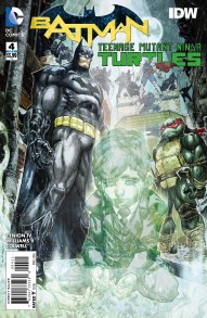 Batman/Teenage Mutant Ninja Turtles #4