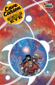 Cave Carson Has An Interstellar Eye #4