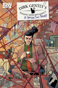 Dirk Gentlys Holistic Detective Agency: A Spoon Too Short #1