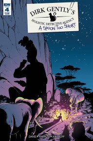 Dirk Gentlys Holistic Detective Agency: A Spoon Too Short #4