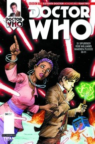 Doctor Who: The Eleventh Doctor: Year Two #4