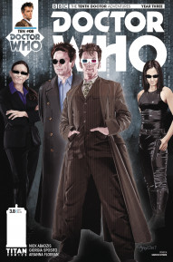 Doctor Who: The Tenth Doctor: Year Three #8