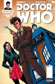 Doctor Who: The Tenth Doctor: Year Two #8