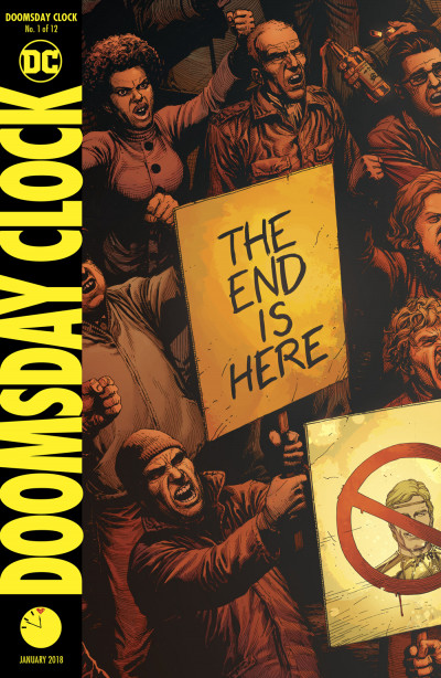 Doomsday Clock 1 Reviews 2017 At Comicbookroundup Com