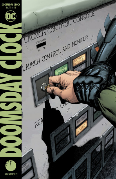 Doomsday Clock 11 Reviews 2019 At Comicbookroundup Com