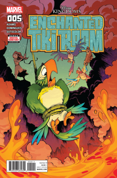 Enchanted Tiki Room Comic Series Reviews At