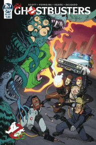 Ghostbusters: 35th Anniversary: Real Ghostbusters #1