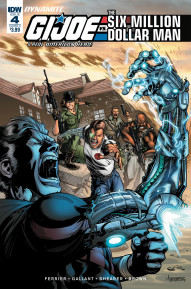 G.I. Joe: A Real American Hero vs. the Six Million Dollar Man #4