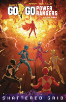 Go Go Power Rangers Vol. 3 TP Reviews