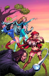 Grimm Fairy Tales Presents: Bad Girls #5