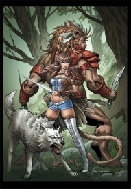 Grimm Fairy Tales Presents Oz: Reign of the Witch Queen #4