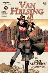 Grimm Fairy Tales: Van Helsing vs. The Mummy of Amun-Ra