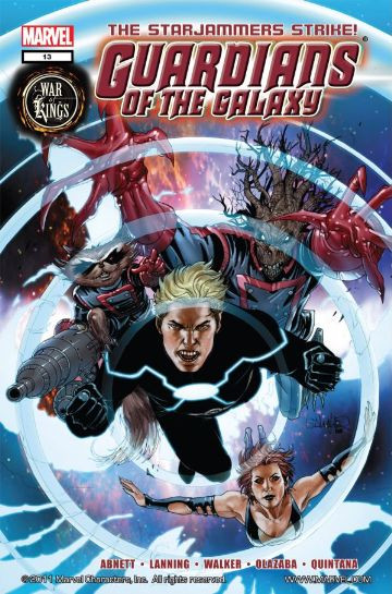 Guardians of the Galaxy #13 Reviews (2009) at ComicBookRoundUp.com