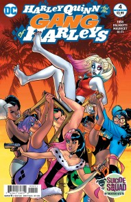Harley Quinn and Her Gang Of Harleys #4