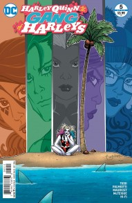 Harley Quinn and Her Gang Of Harleys #5