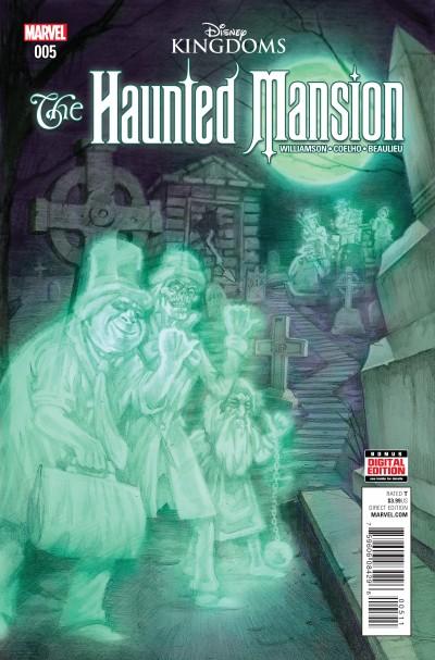Haunted Mansion Comic Series Reviews At Comicbookroundup Com