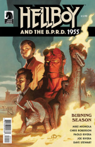 Hellboy and the B.P.R.D.: 1955: Burning Season #1