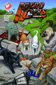 Hero Cats of Stellar City #6