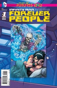 Infinity Man and the Forever People: Futures End #1
