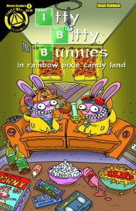 Itty Bitty Bunnies In Rainbow Pixie Candy Land: Save X-Mas