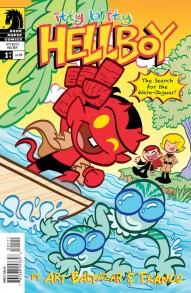 Itty Bitty Hellboy: Search For the Were-Jaguar