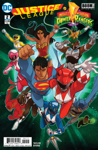 Justice League / Power Rangers #2