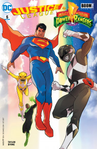 Justice League / Power Rangers #5