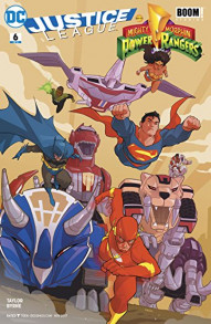 Justice League / Power Rangers #6
