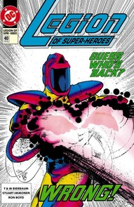 Legion of Super-Heroes #40