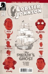 Lobster Johnson: Pirates Ghost #1