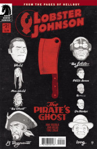 Lobster Johnson: Pirates Ghost #2
