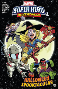 Marvel Super Heroes Adventures:  Captain Marvel - Halloween Spooktacular #1
