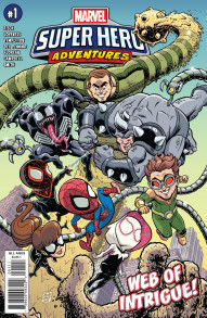 Marvel Super Heroes Adventures: Spider-Man - Web of Intrigue! #1