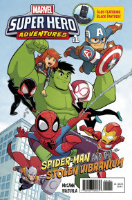 Marvel Super Heroes Adventures: Spider-Man and the Stolen Vibranium #1