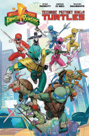 Mighty Morphin Power Rangers/Teenage Mutant Ninja Turtles  Collected TP Reviews