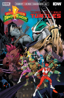 Mighty Morphin Power Rangers/Teenage Mutant Ninja Turtles #3