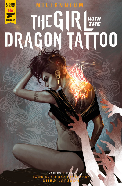 Millennium the girl with the dragon tattoo comic series for Book series girl with the dragon tattoo