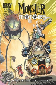 Monster Motors: Curse Of Minivan Helsing #2