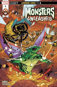 Monsters Unleashed #9
