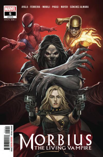 Morbius #5 Pyeong Jun Park Spider-woman Var  Marvel Comics Comic Book 2020