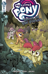 My Little Pony: Spirit of the Forest #1